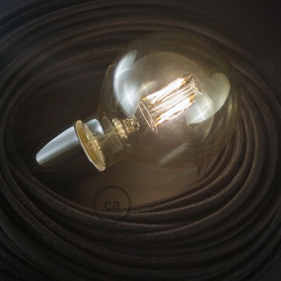 LED Golden Light Bulb - Globe G95 Short Filament - 4W E27 3000K