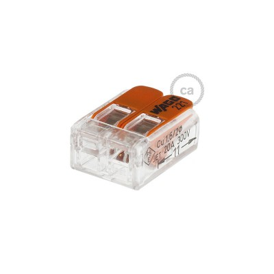 2 poles Transparent Universal Splicing Connectors