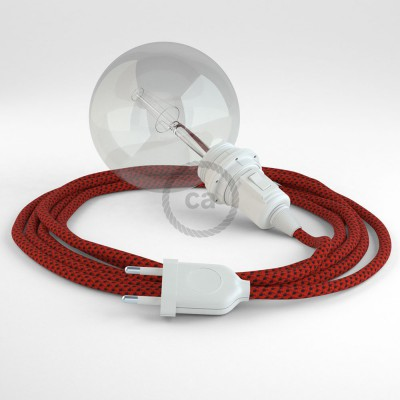 Create your RT94 Red Devil 3D Snake for lampshade and bring the light wherever you want.