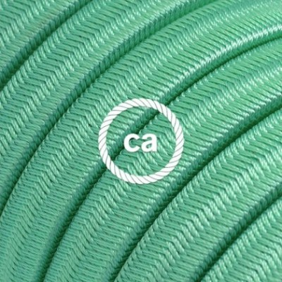 Electric cable for String Lights, covered by Rayon fabric Opal CH69